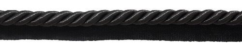 3/8 Cord Twisted Trim Lip (DecoPro 10 Yard Value Pack of Large 3/8