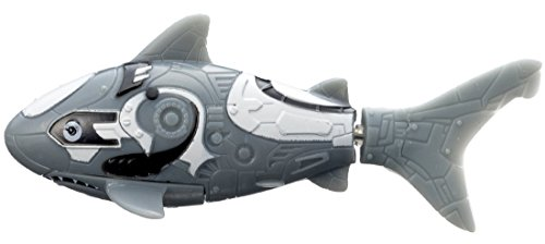 Robo Fish Water Activated Gray Shark 3 Inch