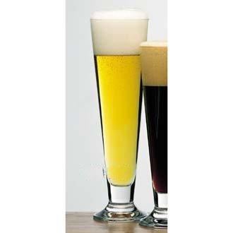 - Bormioli Rocco Amadeus 17.25-Ounce Palladio Footed Beer Flute, Set of 4
