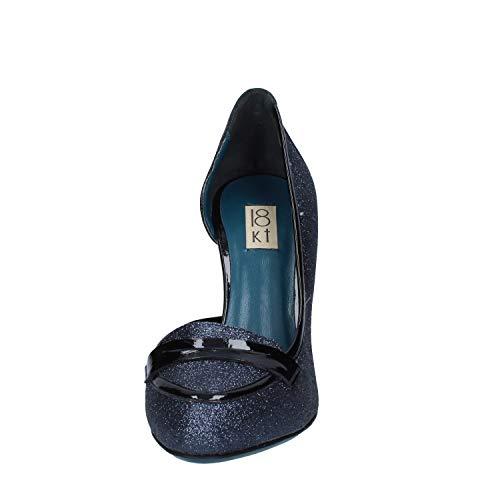 18 18 Kt damesschoenen lakleder Kt blauwe Pz4nBwqf
