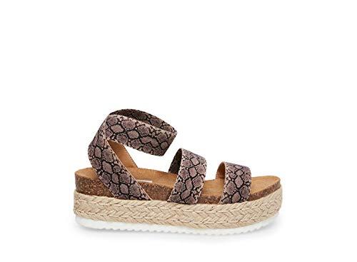 Steve Madden Women's Kimmie Snake Sandal 9 US