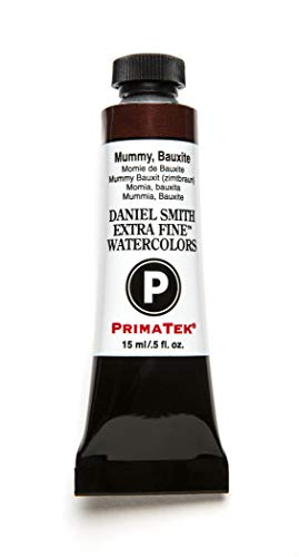 Daniel Smith Extra Fine Watercolor 15ml Paint Tube, Mummy Bauxite Natural Iron Oxides (284600166) ()