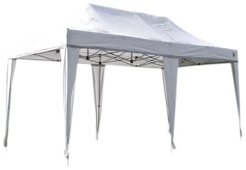 Undercover Canopy Aluminum Covers – 200 Sq.ft of Space ( 10 x 20-Feet, White), Outdoor Stuffs