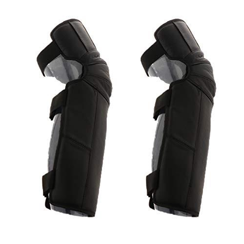 (B Blesiya Unisex Knee Protector Protective Half Chaps Leggings Covers Adjustable)