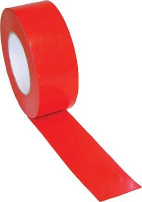 2'' Width Gym Floor Red Vinyl Plastic Marking Tape - Set of 10 Rolls