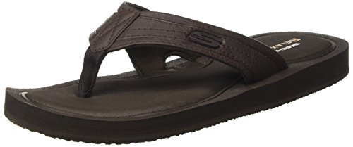 Marrone Uomo Tocker Skechers Infradito Brown EtBBPqYx