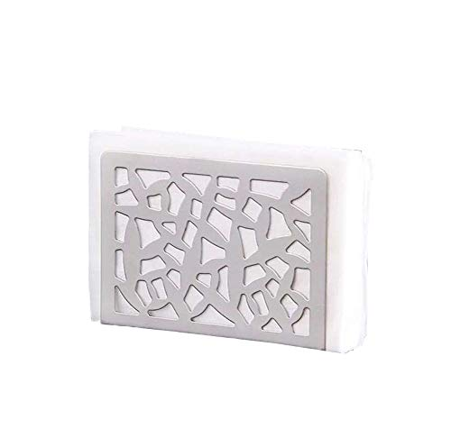 - Nerien Napkin Holder Stainless Steel Cactus Pattern Paper Towel Rack Silver