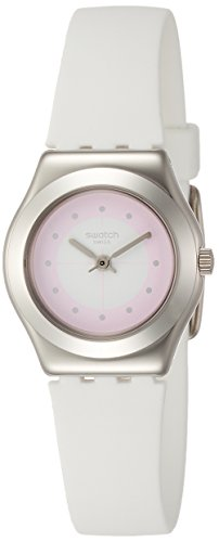 Swatch Sowhite Pink Dial Ladies Watch YSS316