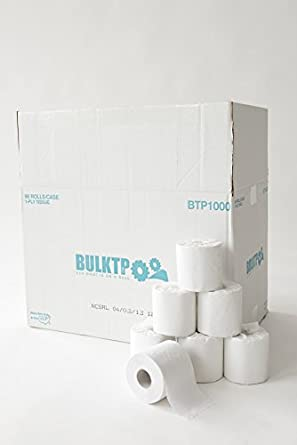 Amazon.com: 1 Pallet (25 Cases) BulkTP Brand 1000 Sheet 1-Ply Toilet ...