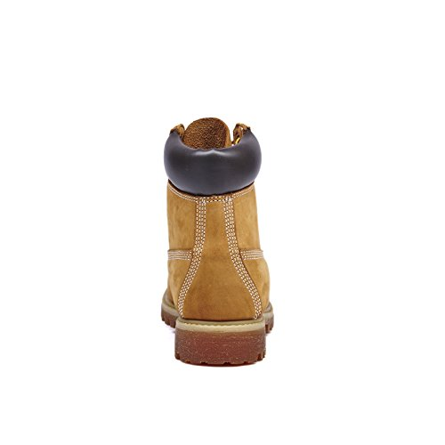 Wheat 1366 2058 Resistant Work Boots Water Premium KINGSHOW Men's P0wqvZxF