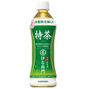 [Case sale] Suntory green tea Iemon Tokucha (food for specified health use) 500ml 48 pieces buying