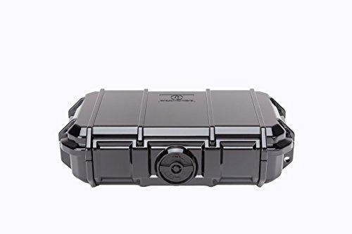 Seahorse 56 Micro Case, Black (SE56, BK) (Waterproof Seahorse Case)