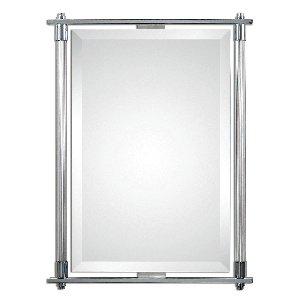 (Uttermost 01127 Adara Vanity Mirror, Silver)