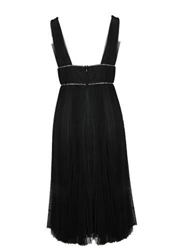 Kyliedressmidiblack Nylon Vestido Negro Mujer Maria Hohan Lucia 1YWwzTX4tq