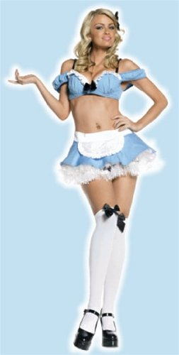 Alice in Wonderland - Medium/Large - Dress Size (Naughty Alice In Wonderland Costumes)