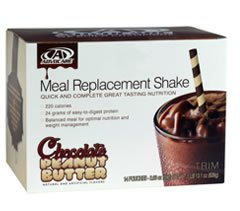 Advocare Meal Replacement Shake Chocolate Peanut Butter 1 Box of 14 packets
