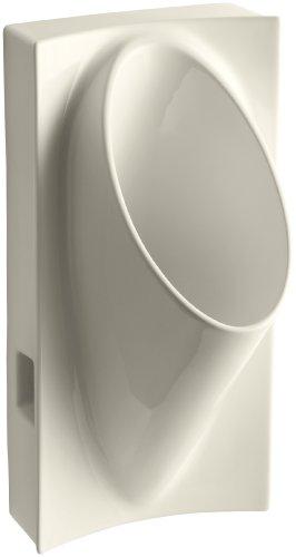 Kohler K-4918-47 Steward Waterless Urinal, - Kohler Waterless Steward Urinal
