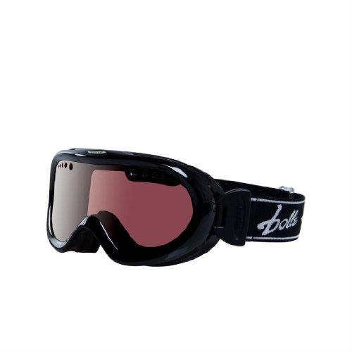 i Goggle (Shiny Black/Vermillon Gun ) (Nebula Ski Goggles)