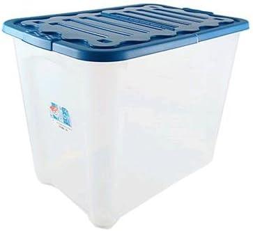 House & Style vulcano Box Storage Duo XXL - Caja de almacenaje (60 x 40 x 45 cm), color azul claro: Amazon.es: Bricolaje y herramientas