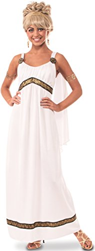 Rubie's Women's Grecian Costume Dress, Multi, Small White ()