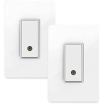 Amazon Com Wemo Light Switch Wi Fi Enabled Works With