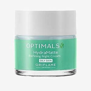 Oriflame Optimals Hydra Matte Refining Night Cream Oily Skin