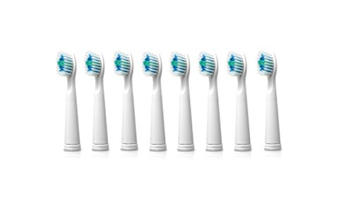 Sonic-FX Replacement Brush Heads (8-Pack) (White)
