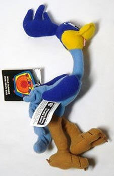 Warner Bros. Mini Bean Bag Plush Road Runner