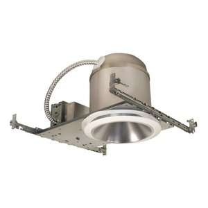 Jesco Lighting RLH-6015N-IC-40 Accessory - 6'' Aperture Ic Airtight New Construction, Silver Finish