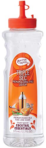 Master of Mixes Cocktail Essentials Triple Sec, 375 ML Bottle (12.7 Fl Oz), Individually Boxed