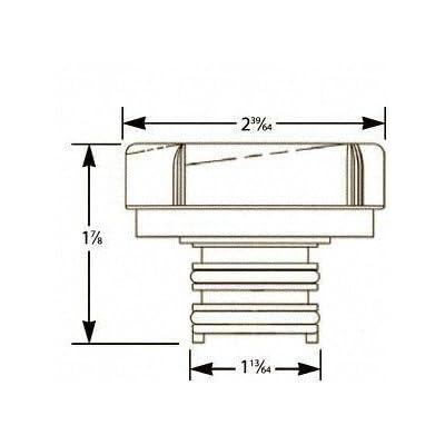 Stant 11247 Radiator Cap: Automotive