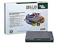 (Eicon Diva LAN ISDN Modem - ISDN terminal adapter - external - ISDN BRI ST - 128 Kbps - 1 digital port(s) / 2 analog port(s) - Ethernet,)
