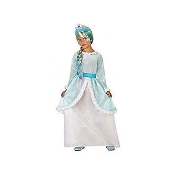 Atosa-56935 Disfraz Princesa, Color Celeste, 10 a 12 años (56935 ...
