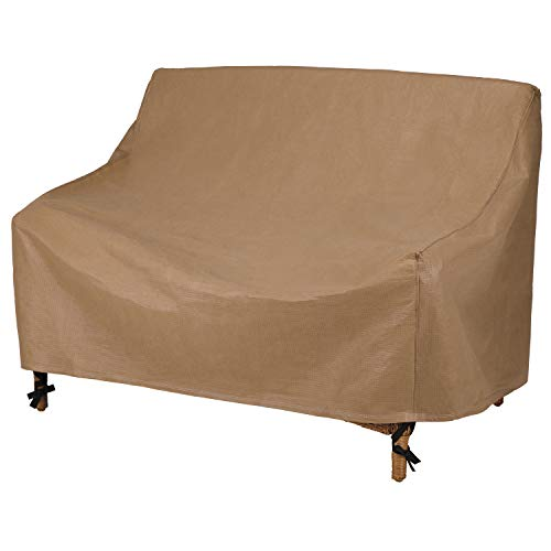Duck Covers Essential Patio Loveseat Cover, 54-Inch