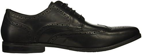 W ROCKPORT M77061 STYLE PURPOSE WINGTIP MEN/'S BLACK LEATHER DRESS SHOES WIDE