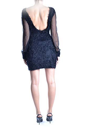 Mujer Alessandrini Vestido Daniele Poliamida Negro Mcbi12065 p75pqwZ