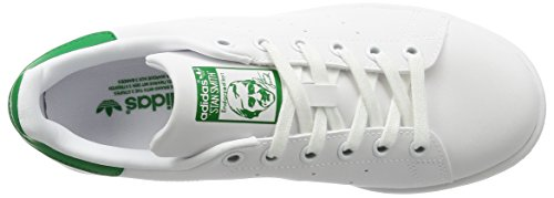 Adidas - Adidas Stan Smith Weiss Grun - Weiss, 44