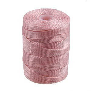 C-Lon Bead Cord, Bubblegum - 92 Yard Spool 4336807679
