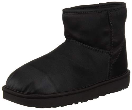 Classic Fashion Black W Satin Women's UGG Mini Boot 0qHxEfX5