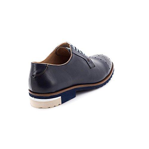 1351 Stringate Martinelli Blue Dario 0358pym Scarpe Derby Uomo Axxaq5