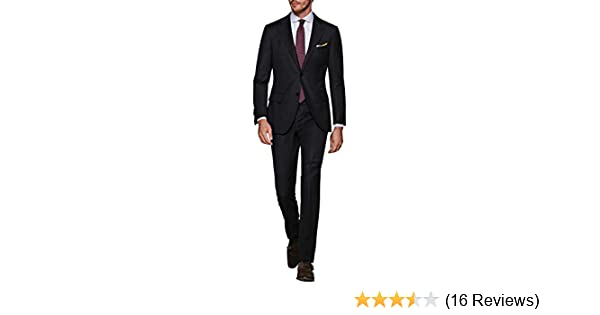 21520fe5afb3fa LN LUCIANO NATAZZI Italian Men's Suit 160'S Canali Cashmere Wool 2 Button  Jacket (36 Regular US / 46R EU/W 30