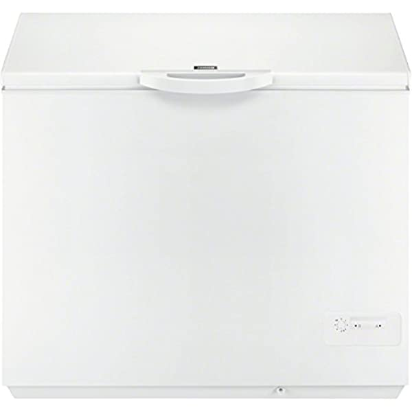 Zanussi ZFC31400WA Congelador, 300 litros, Blanco: 346.64: Amazon ...