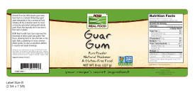 NOW Foods Guar Gum Powder, 8-Ounce