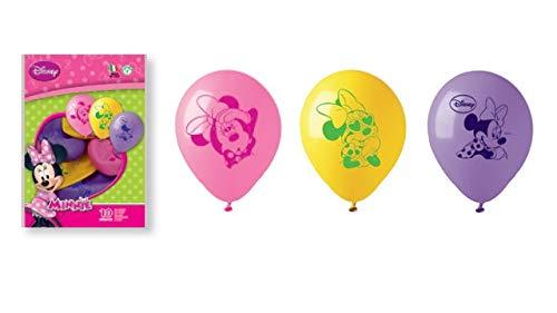 Disney - Sachet 10 Ballons Minnie Modè le Alé atoire 33671