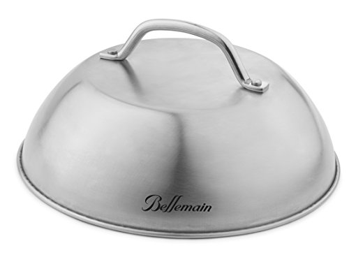 Bellemain-Stainless-Steel-Cheese-Melting-Dome