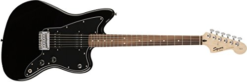 Squier by Fender Affinity Series Jazzmaster Electric Guitar – HH – Rosewood Fingerboard – Black