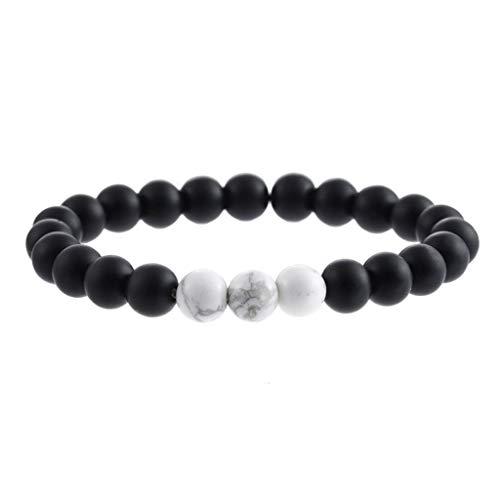 (Bracelets Classic Simple Design Natural Stone Bracelet Men Jewelry And Women Gift Fine Ornaments)