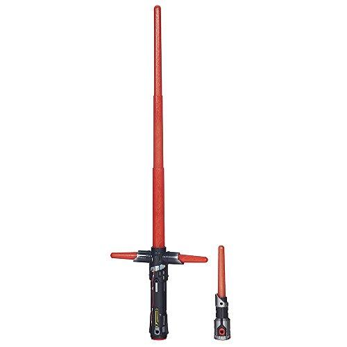 Star Wars Sable electrónico Kylo Ren, Color Rojo (Hasbro B2948EU4)
