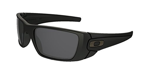 Oakley Fuelcell Sunglasses (Matte Black Frame Polarized Solid Black - Oakley Black Matte