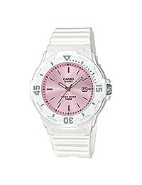 CASIO LRW-200H-4E3VEF - Reloj analógico de cuarzo para mujer con correa de resina